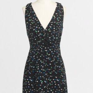 NWT JCrew Painted Dots Wrap Front Dress SZ6